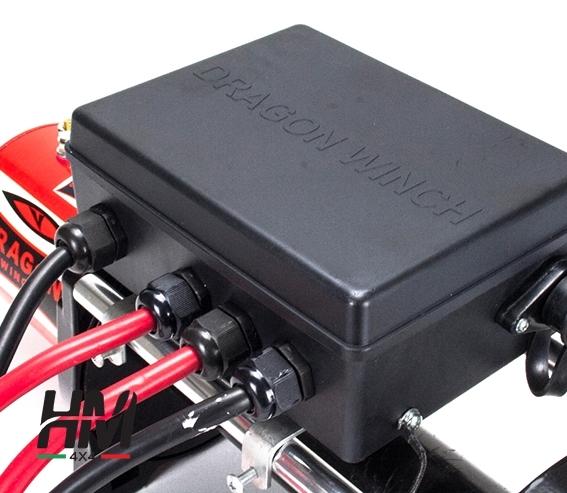 Verricello Maverick 12.000LB motore 6,8 hp con cavo tessile
