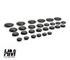 Suzuki Samurai and Sj floor hole rubber caps plugs kit