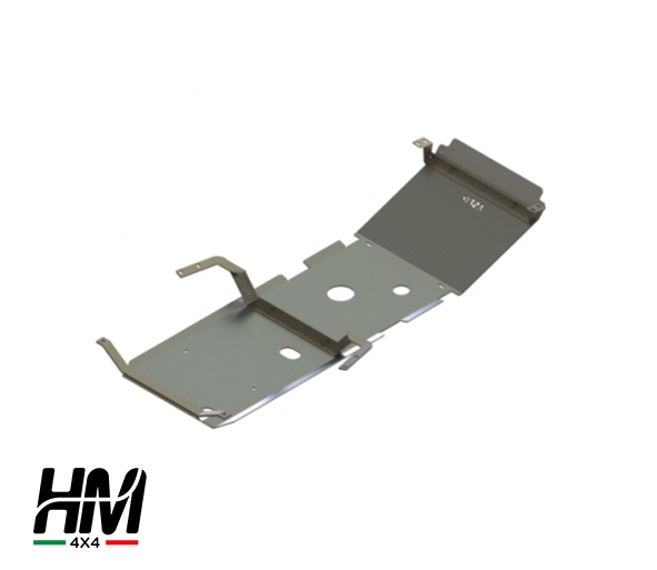 Front and gear skid plate Toyota Hilux 02'-05'