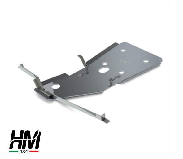 Gear and transfer skid plate Toyota LC 125 petrol 03'-09'