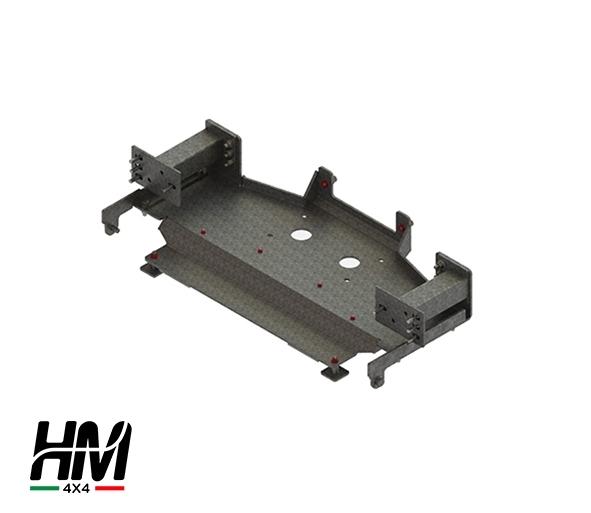 Hidden winch mount Toyota LC 155 18'-19'