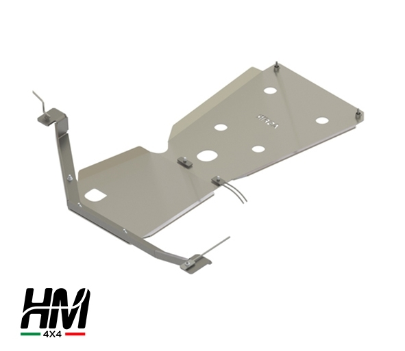 Gear and transfer skid plate Toyota LC 155 15'-18'