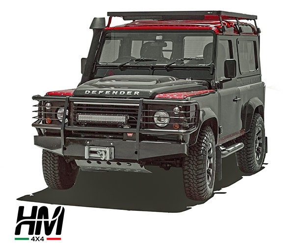 Portapacchi alto Land Rover Defender 90