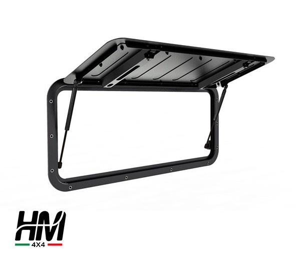 Vetro laterale apribile in alluminio Land Rover Defender - Front Runner
