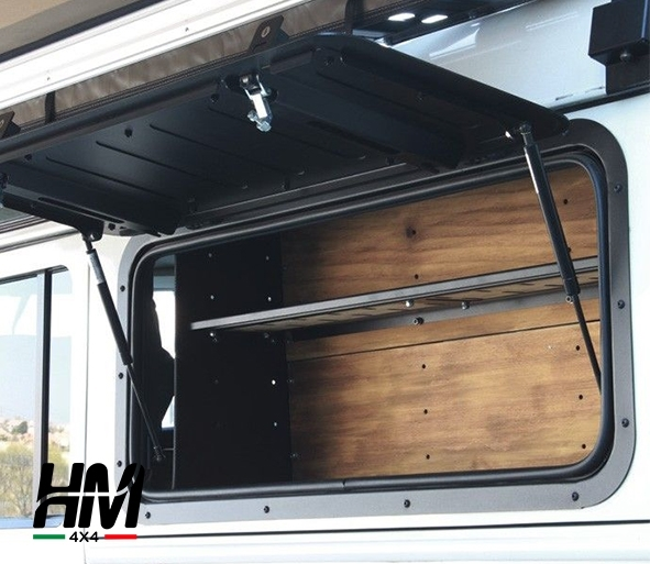 Land Rover Defender gullwing window/aluminium - Front Runner