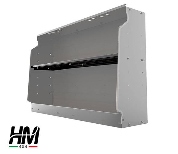 Land Rover Defender TD1/TD5 gullwing box shelf - Front Runner