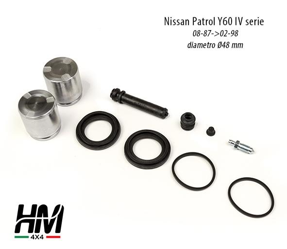 Kit revisione pinza freno anteriore Nissan Patrol Y60