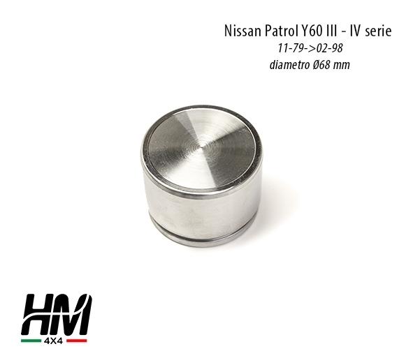 revisione pinza freno anteriore Nissan Patrol Y60