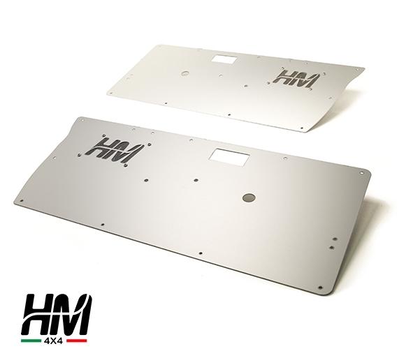 Coppia pannelli porte anteriori in alluminio per Suzuki Samurai ed Sj