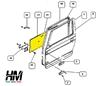 pannello porta anteriore in alluminio per Suzuki Samurai ed Sj