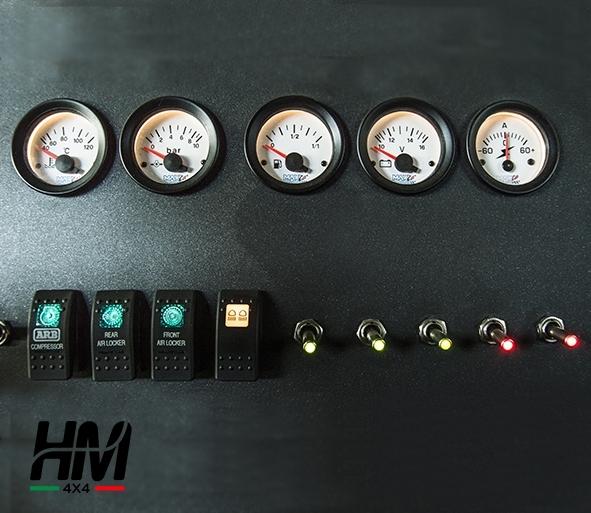 Immagine di Indicatore livello carburante auto diametro 50mm