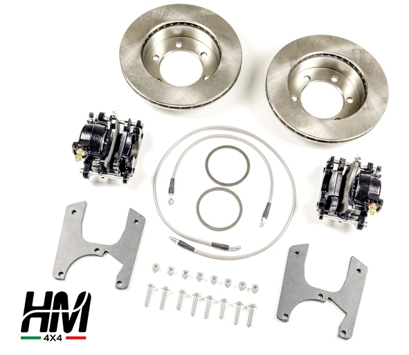 Kit conversione freni a disco posteriori Toyota LJ70
