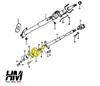 Steering shaft column joint repair kit Suzuki Samurai