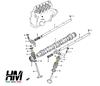 Suzuki Samurai 1300 valve stem seals set