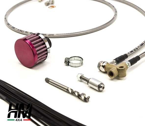 Diff breather kit for Suzuki Jimny from 2018