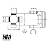 5-7166X axle shaft universal joint