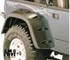Parafanghi Bushwacker jeep yj