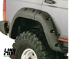 parafanghi Bushwacker jeep xj