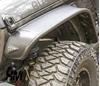 parafanghi bushwacker flat style jeep jl