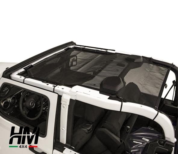 Mesh shade top Jeep Wrangler JL