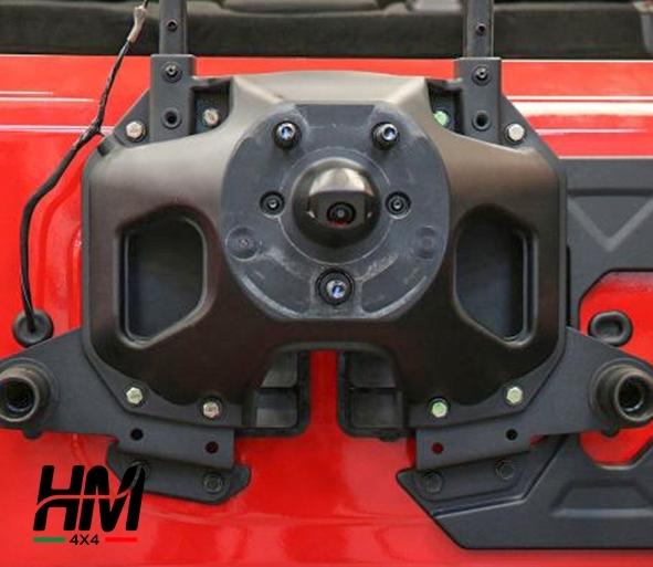 supporto ruota di scorta jeep wrangler
