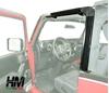 kit cornice porta per soft top Jeep Wrangler JK 2 porte