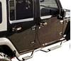 Drop step side bars Jeep Wrangler JK Unlimited