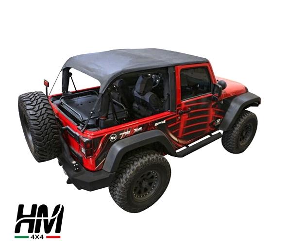 cappotta jeep wrangler jk 2 porte